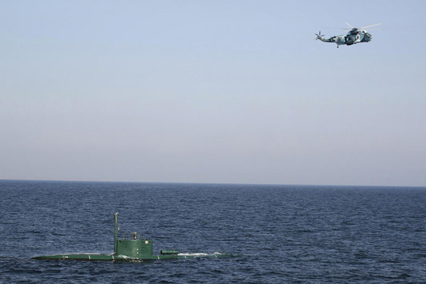 Iranian navy holds drill in Strait of Hormuz