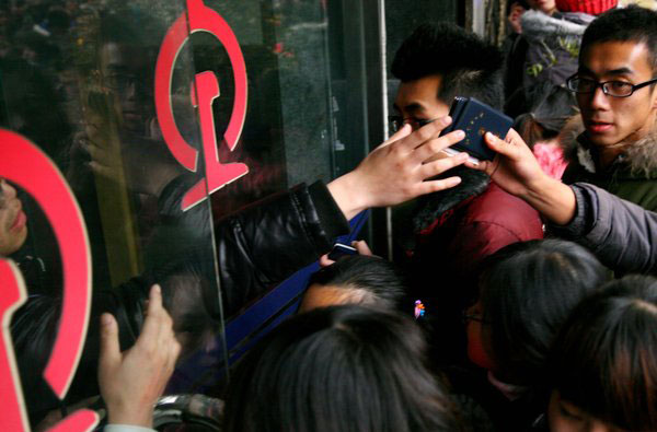 Students rush to get train ticket home