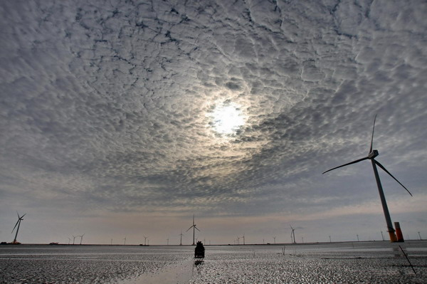 China's largest wind farm blows into operation