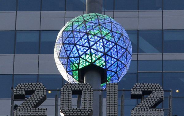 New Year's Eve Ball Ready To Go