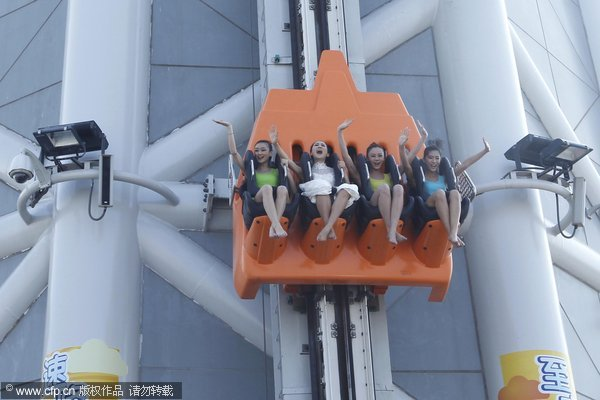 World's tallest ride opens in Guangzhou