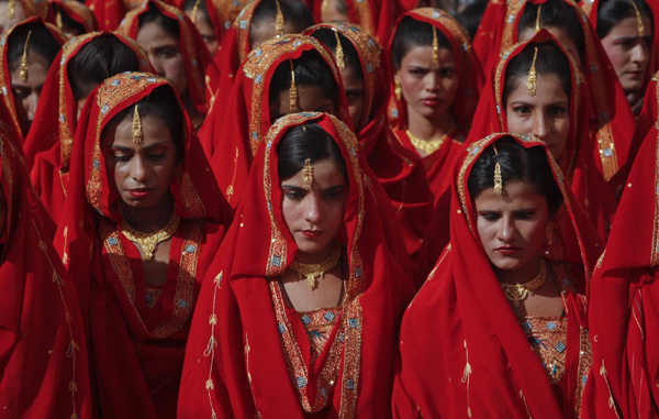 Pakistani mass wedding ceremony