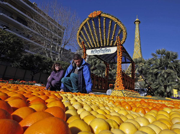 Lemon festival kicks off in France