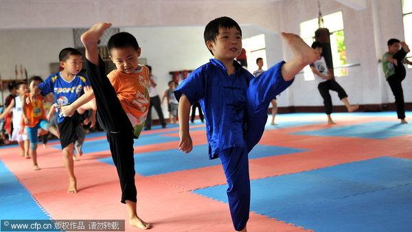 Kung Fu Kids Kick Summer Blues 1 Chinadaily Com Cn