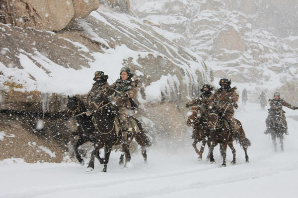 Border patrol faces tough weather conditions