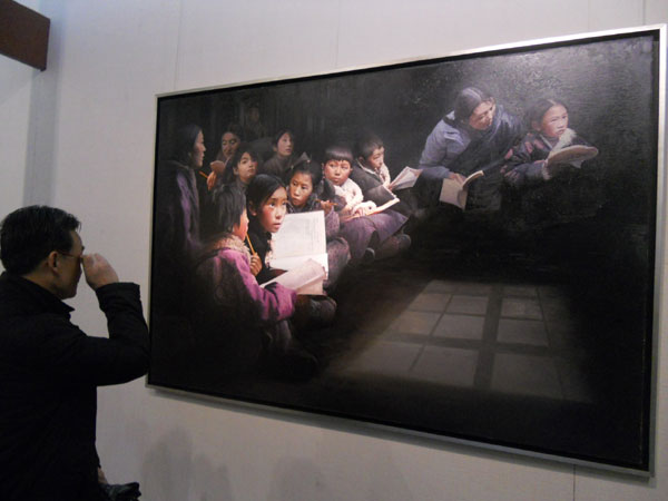 Link to Wang Qijun's painting exhibition held in Sichuan