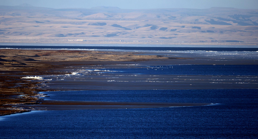 Link to Qinghai Lake continues expanding