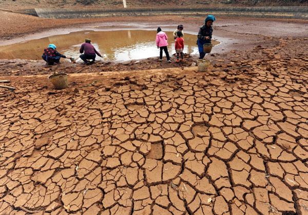 Link to Continuing drought in SW China