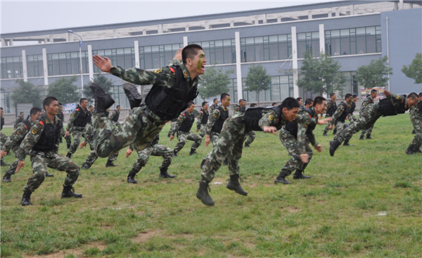 military drill Gallery