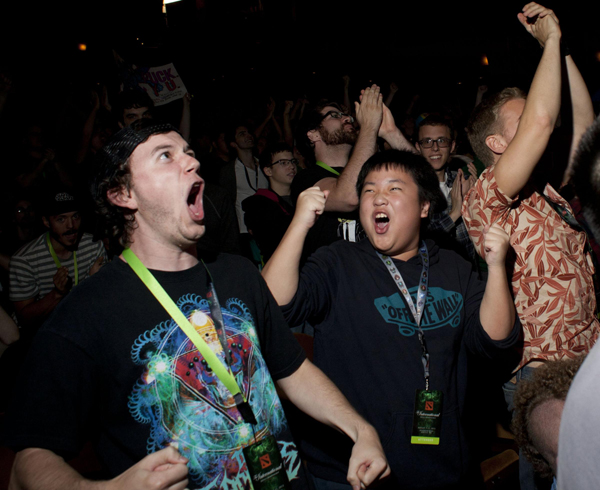 Gamers storm Seattle for Dota 2 competition