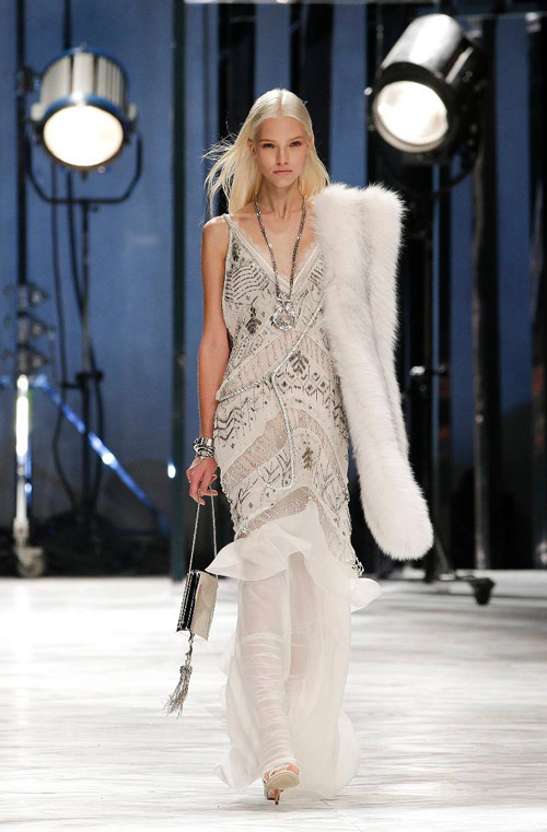 Roberto Cavalli Spring 2014 Dresses Milan Fashion Week
