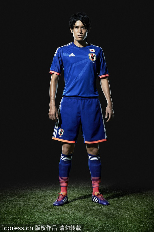 Meet New Uniforms For Brazil 2014 World Cup 8 Chinadaily