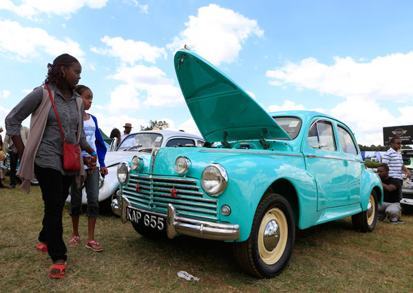 Vintage Cars Concours Kicks Off In Kenya Chinadaily Com Cn