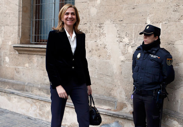 Spain's Princess to give testimony in corruption case