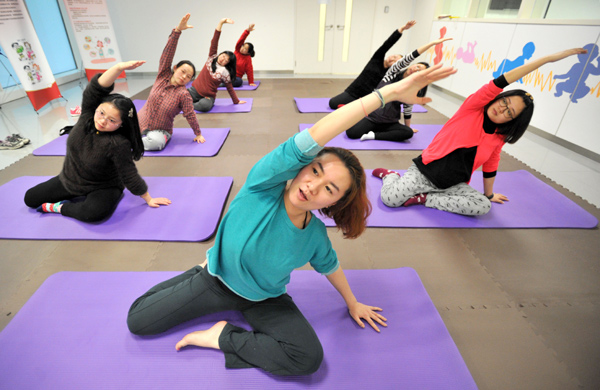 Hospital Offers Prenatal Yoga Instruction1 Chinadaily