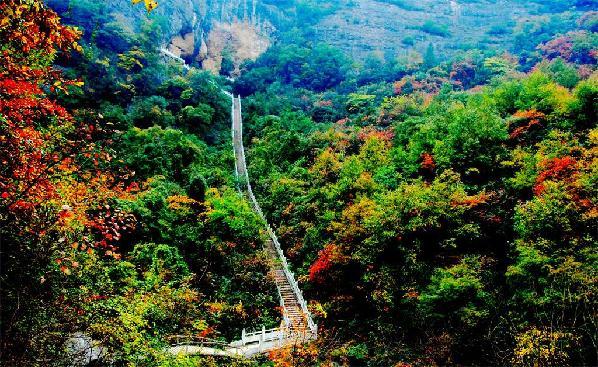 德丰利达南阳淅川坐禅谷景区登陆cctv-4