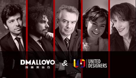 国际设计师团队对每一件作品的造型