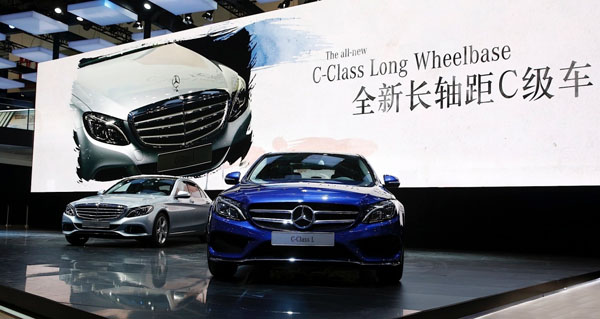 Mercedes Benzu0027s Long Wheelbase C Class Made For China