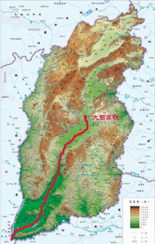 Shanxi China Map.High Speed Travel Through Shanxi Province China Chinadaily Com Cn