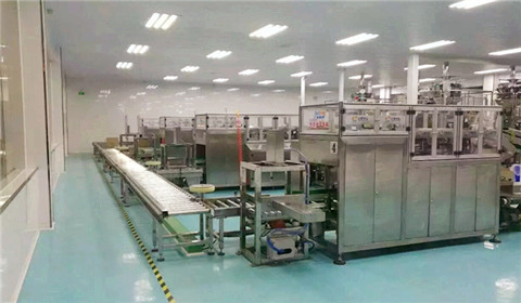 China's first GMP-licensed food production line opens in
