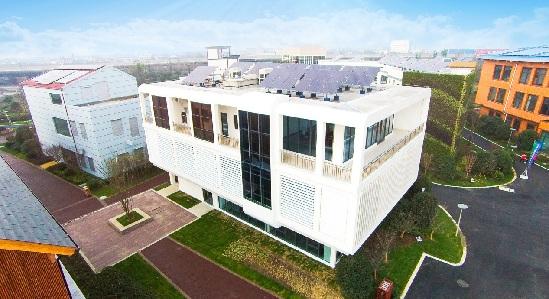 汉能参建全国首个绿色建筑主题公园