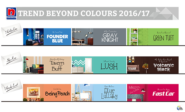 Nipsea Group Unveils Tend Beyond Colors 2016 17 China