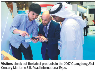Maritime Silk Road expo sees strong growth