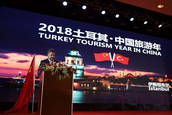 Turkey eyes more Chinese visitors and investment