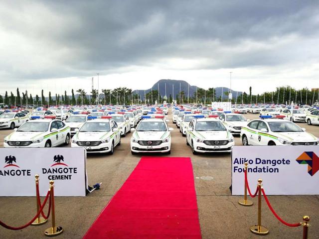 Guangzhou car brand servicing Nigerian police force