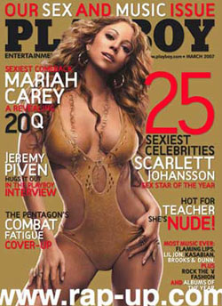 Mariah Carey has emancipated herself from most-but not all-of her clothing ...