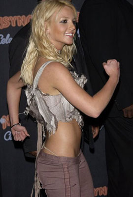 britney spears commando