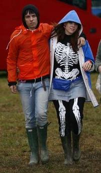 Kate Nash with ex-boyfriend Ryan Jarman