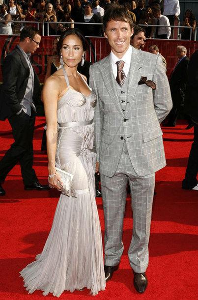 Steve Nash with his wife Alejandra Amarilla