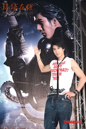 Leehom channels his inner George Michael