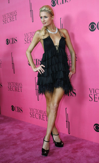 Sexy Paris Hilton Secret Fashion Show