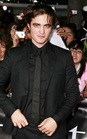 robert pattinson twilight premiere. Robert Pattinson#39;s arrived at