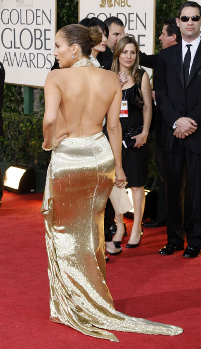jennifer lopez golden globe awards