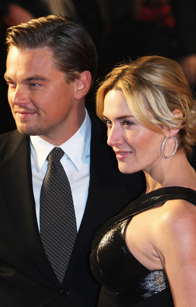 Kate Winslet and Leonardo DiCaprio at premiere of ... Kate Winslet And Leonardo Dicaprio