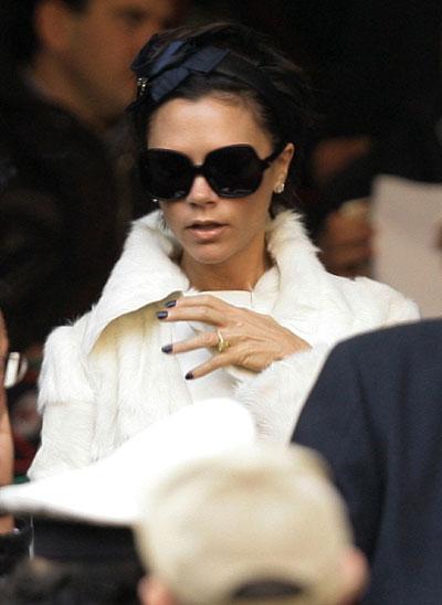 Victoria Beckham watch... David Beckham