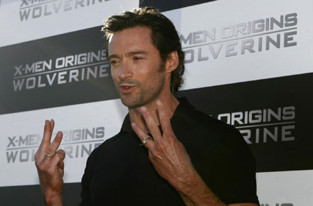 Hugh Jackman attends media event for movie