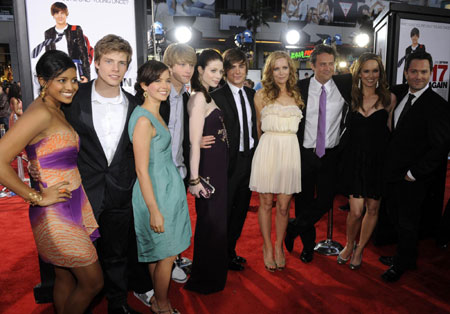 Zac Efron and cast members attend