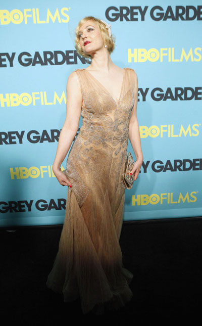 Drew Barrymore attends premiere of