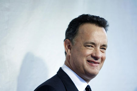 Tom Hanks arrives for Film Society Gala Tribute to honor him with the Chaplin Award in NY