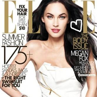 Megan Fox para Elle Magazine