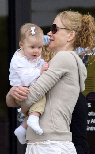 Hollywood actress Nicole Kidman and her singer husband Keith Urban are