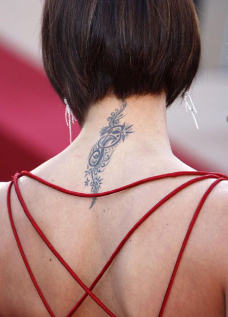 Style watch:tattoo on red carpet