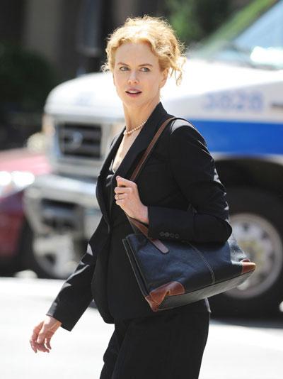 Nicole Kidman shoots her new movie 'Rabbit Hole' in NY