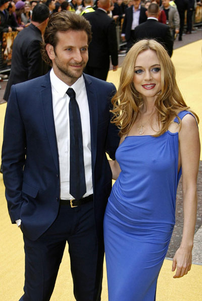Heather Graham and Bra... Bradley Cooper