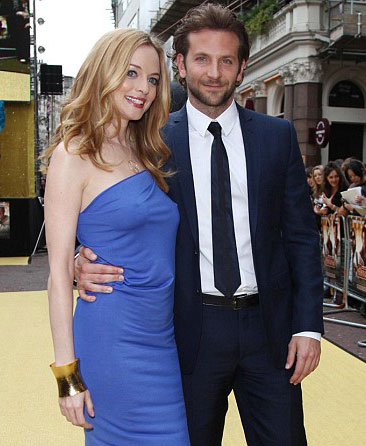 "Heather Graham and Bradley Cooper at UK premiere of ""The Hangover"""