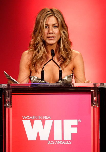 Jennifer Aniston,Elizabeth Banks and other celebs at Film 2009 Crystal and Lucy Awards